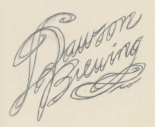 Dawson Brewing sketch